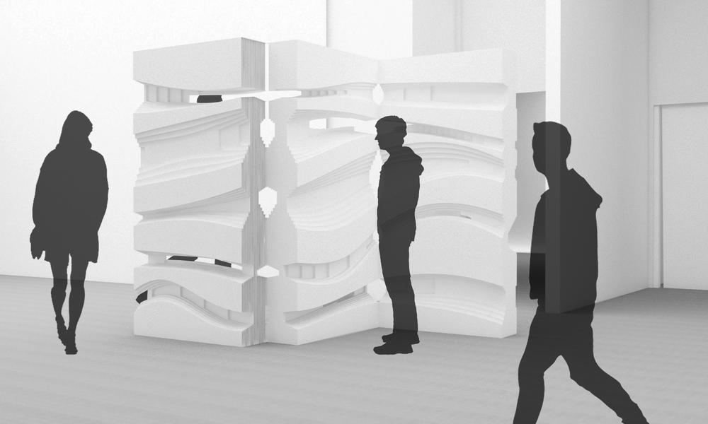 DIGITAL BRUTALISM _  Parametric design, Tel Aviv 2015