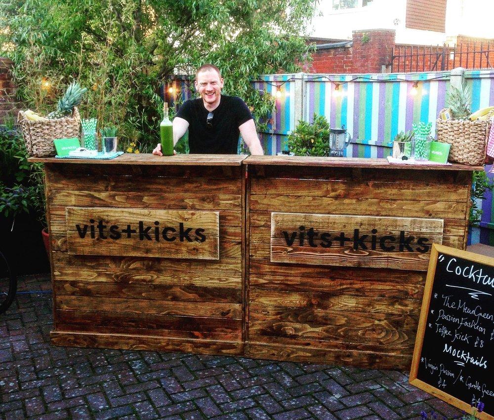 Vits+Kicks Quirky Bars
