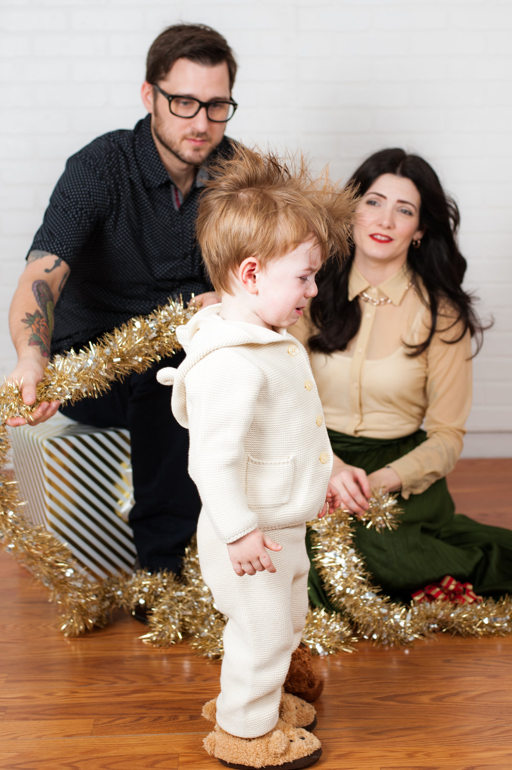 I asked one of my favorite families to sit for a Holiday Promo last year and the results were amazing! Also, their coordination was on point.