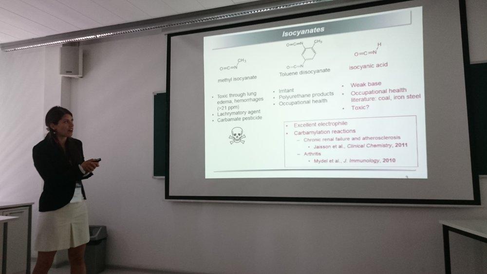 Nadine Borduas (ETH Zurich) discusses organic nitrogen indoors.