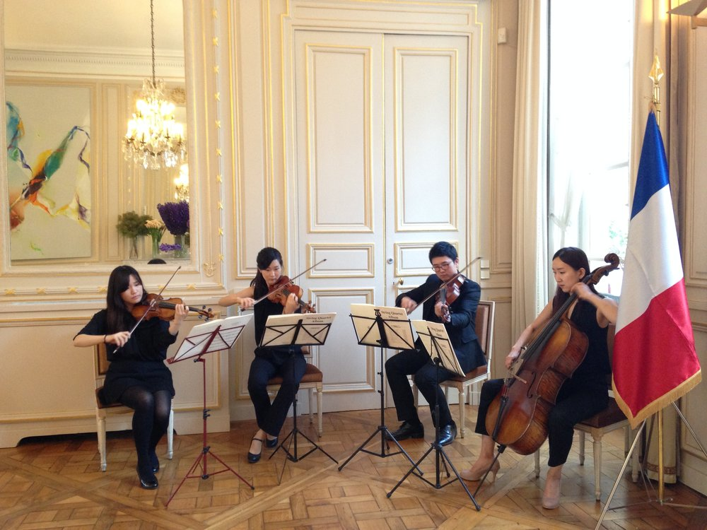 SUNRISING à l'Ambassade de Corée en France