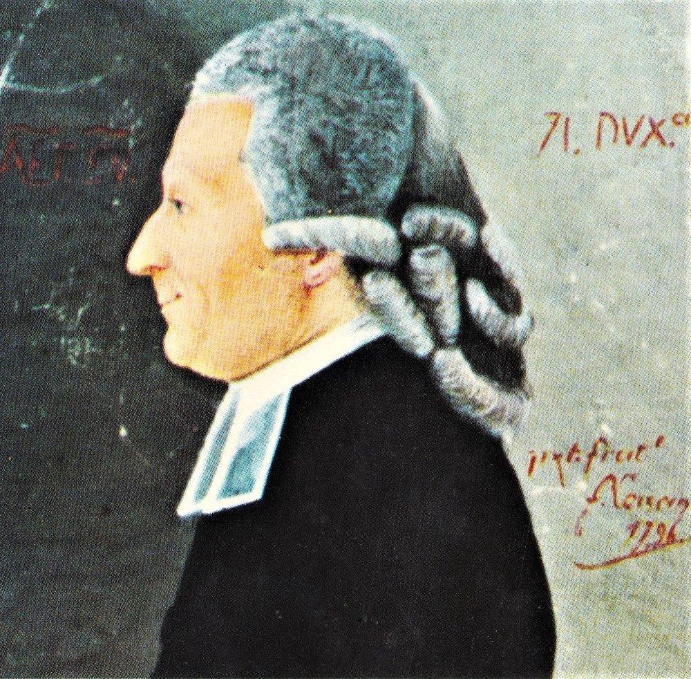 Ritratto di Giacomo Casanova dipinto dal fratello minore Francesco (1796)