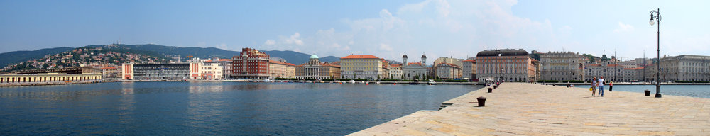 Trieste, frontemare