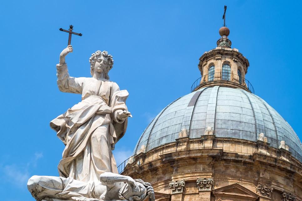 Statua di Santa Rosalia, Palermo