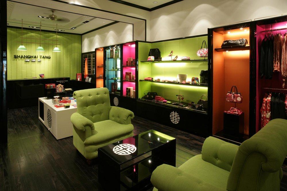 Uno dei caratteristici negozi di Shanghai Tang