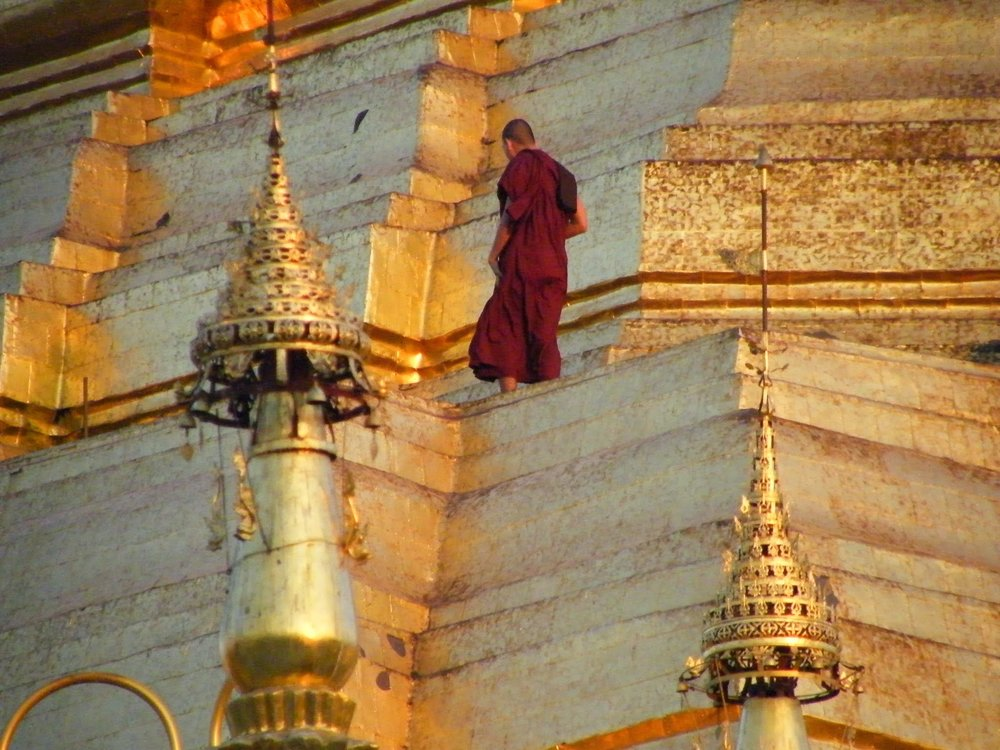 Shwedagon, immagine di Paola Caronni