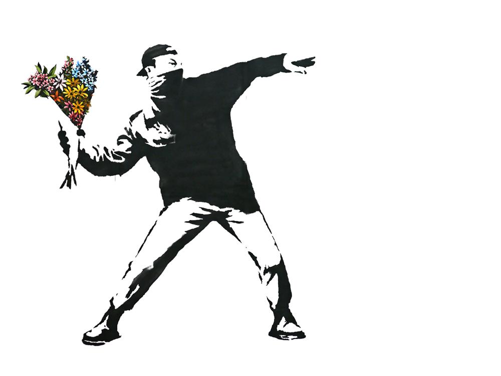 Immagine © Banksy (tratta dal sito web dell'artista, www.banksy.co.uk)