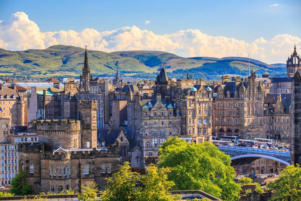 Edimburgo: la città vecchia