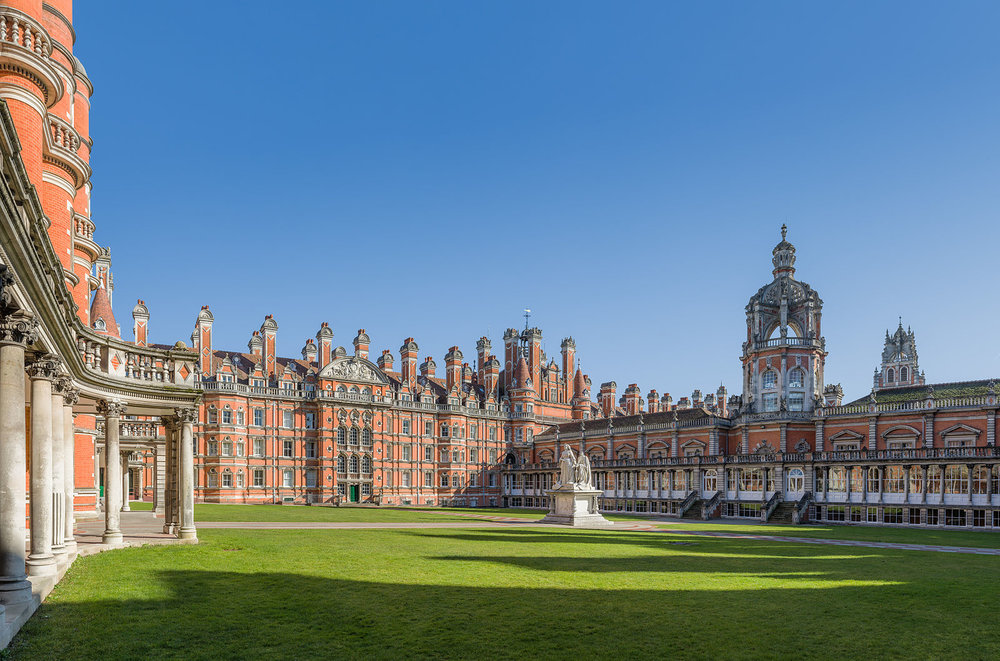 La Royal Holloway University of London