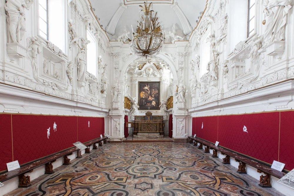 Oratorio di San Lorenzo: una delle sedi della biennale Manifesta 12 (www.m12.manifesta.org)