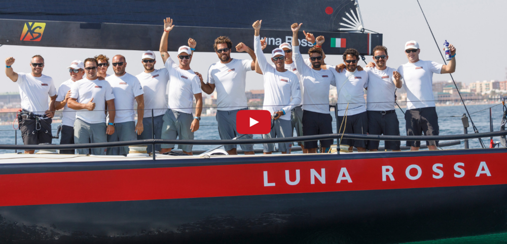 Video:  Luna Rossa is back!