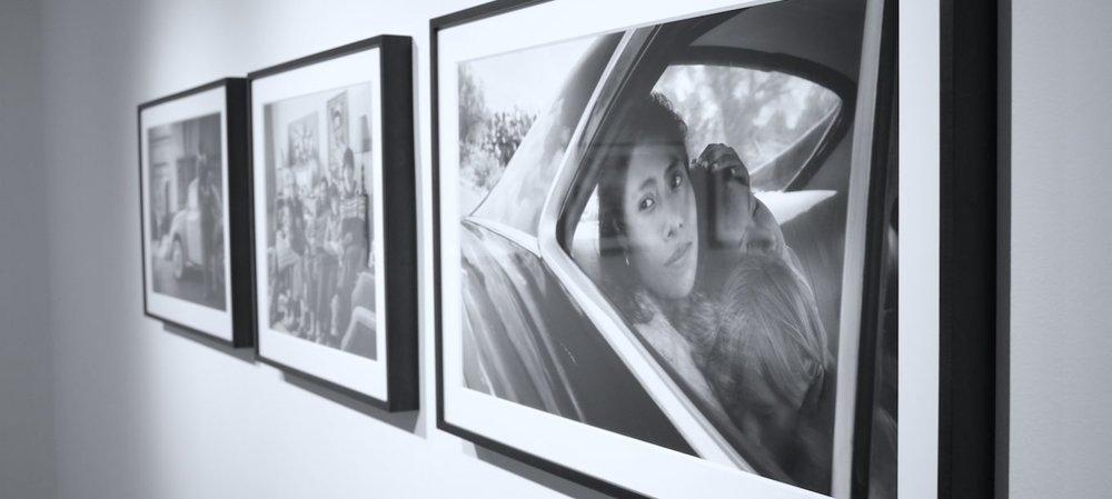 Alcune fotografie in mostra