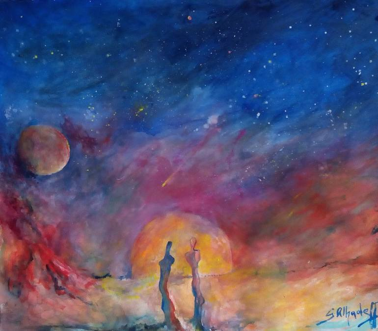 Cosmos , opera di Gustave Alhadeff