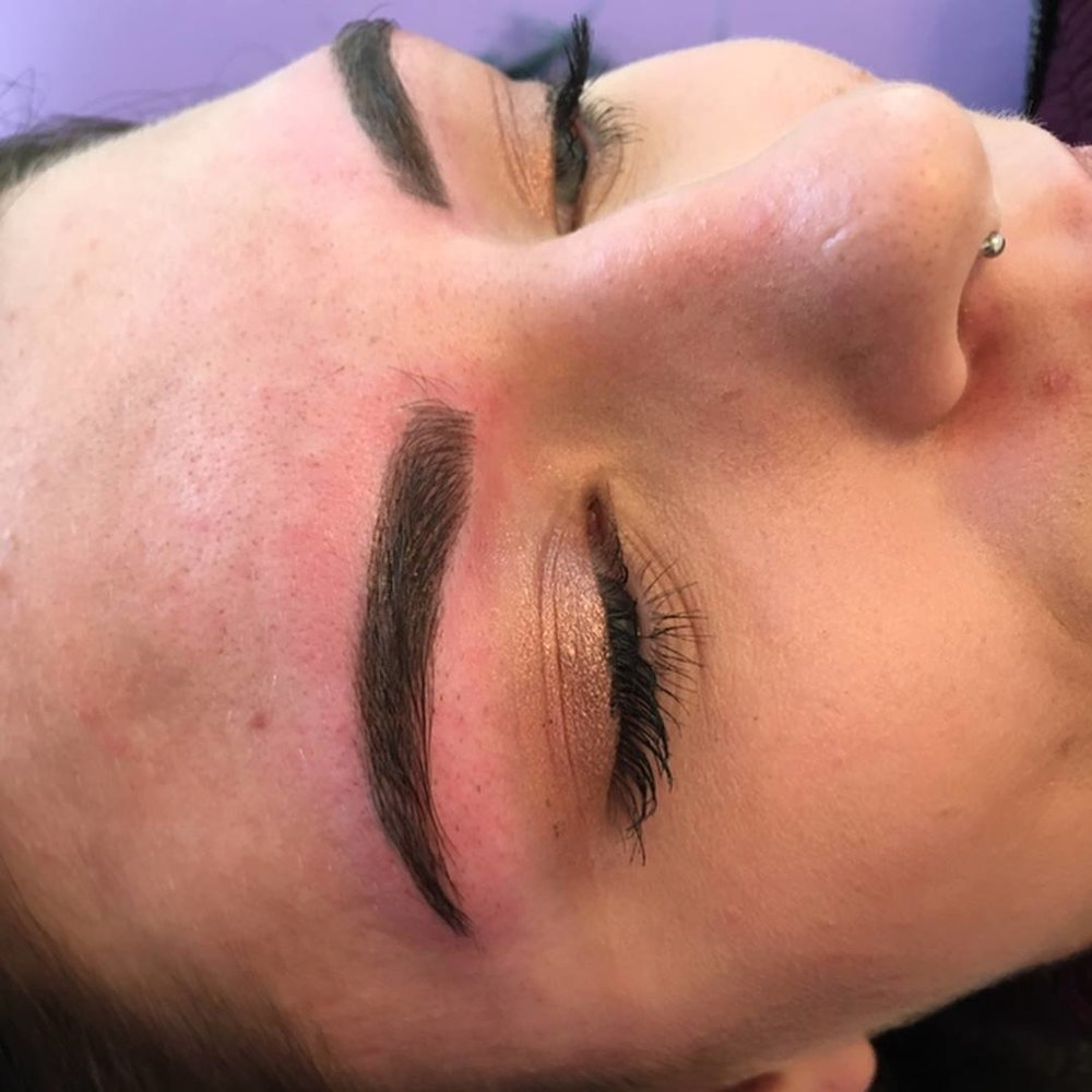 """Sabrina is by far THE BEST. My brows are flawless and it's all thanks to her. She took the mess on my face and turned me into a super model, but seriously. She's easy to talk to, so sweet and caring, explains every step of the process so you're never nervous, plus she's a total babe. If you want your brows done you have to visit Sabrina! You won't leave disappointed!!"""