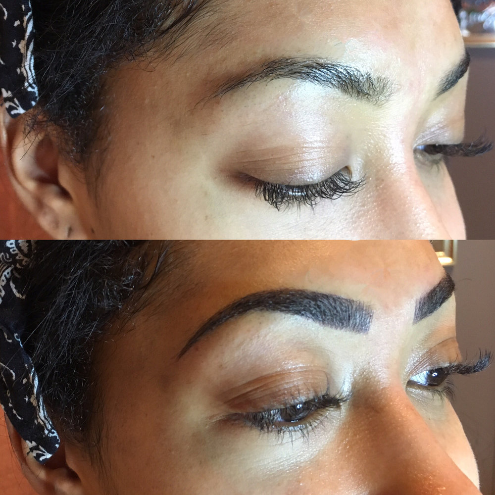 """Getting my brows done was the best decision I've ever made!! It doesn't hurt at all and the results and life-changing! Sabrina is so sweet and it's always a good time when you're around her! Such a great experience I will never go to anyone else for my eyebrow needs!"""