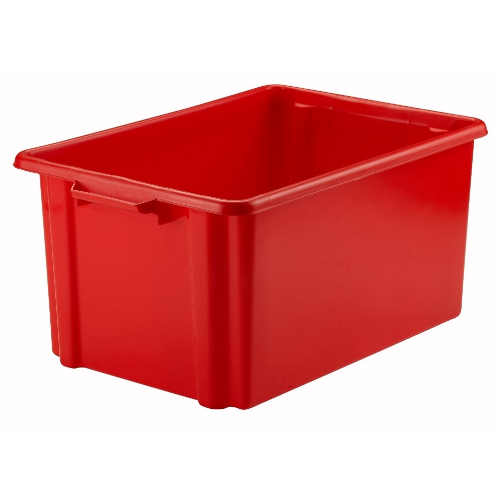 Our boxes are getting old, worn out and in need of replacement. We would like to replace them with eye catching, clean stackable safe red boxes (with lids). Red is also our main colour as it is one of the last colours to be recognised by someone with Dementia.