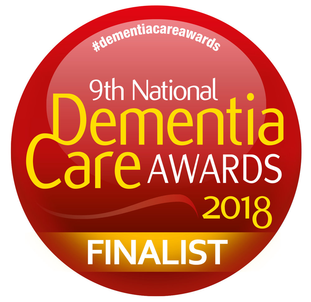 9th National Dementia Care Awards Finalist logo
