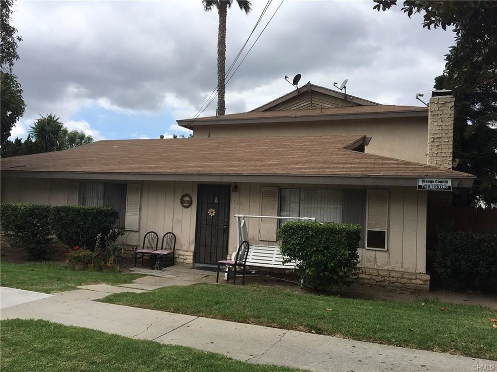 15531 Pasadena Ave, Tustin   $1,200,000  4 Units | $298,750/unit | $70,500 GSI | 4,243 SqFt | Built in 1964 | $282.82/sqft