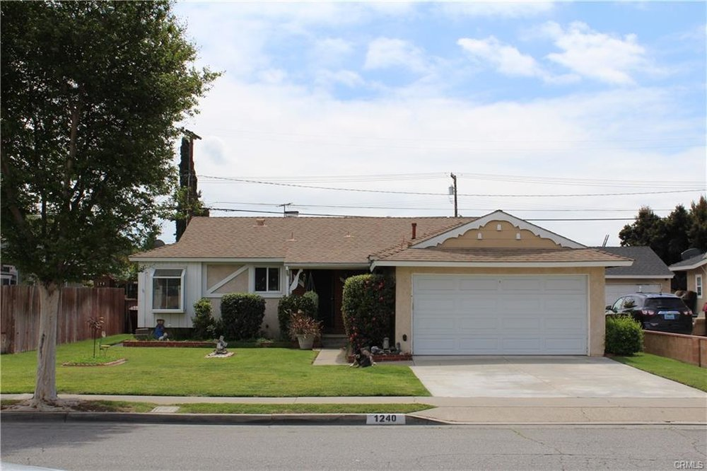 1240 E Glenwood Ave, Anaheim   $495,000  SFR | 3 Beds | 2 Baths | 1,149 sqft | 6,090 sqft lot | Built in 1953 | $430.81/sqft