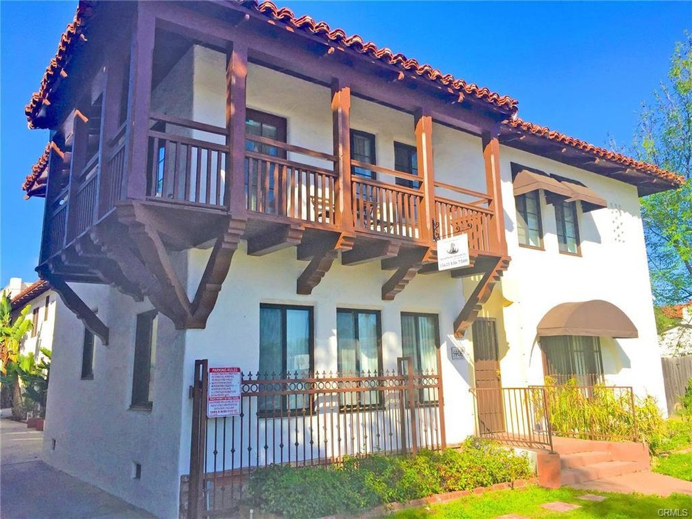 1408 N Broadway St, Santa Ana   $2,425,000  12 Units | $202,083/unit | $157,080 GSI | 9, 864 SqFt | Built in 1929 | $245.84/sqft
