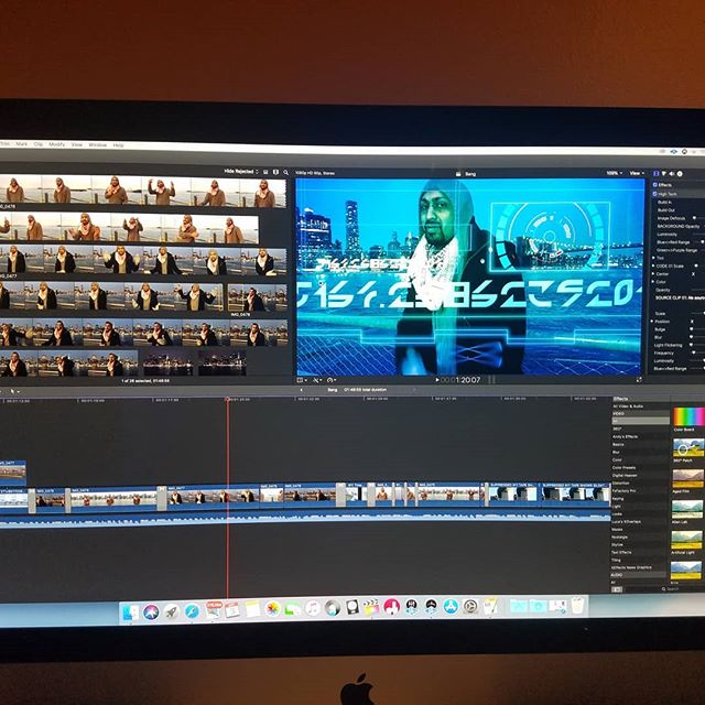 Editing a video for Bang(9-11 truth video)  #finalcutpro  #finalcutprox  #videoediting  #911truth  #911truthmovement  #hiphop #film