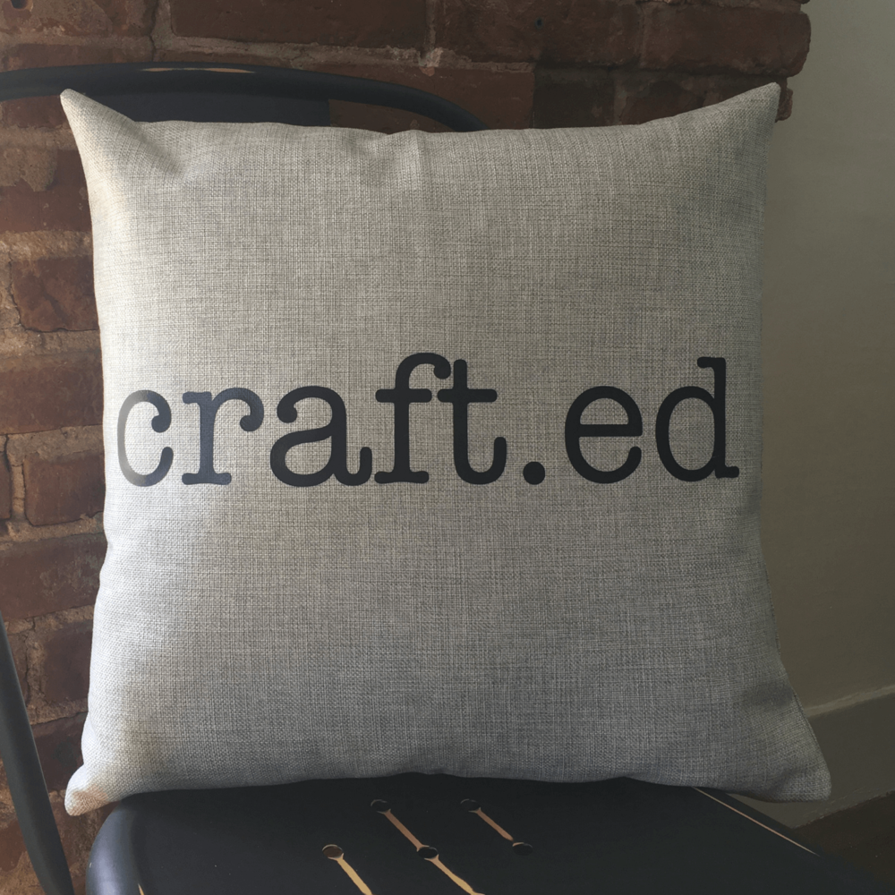 Light Grey Pillow Example