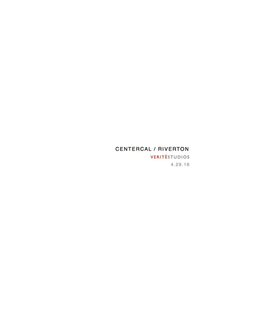 CenterCal: Riverton Script