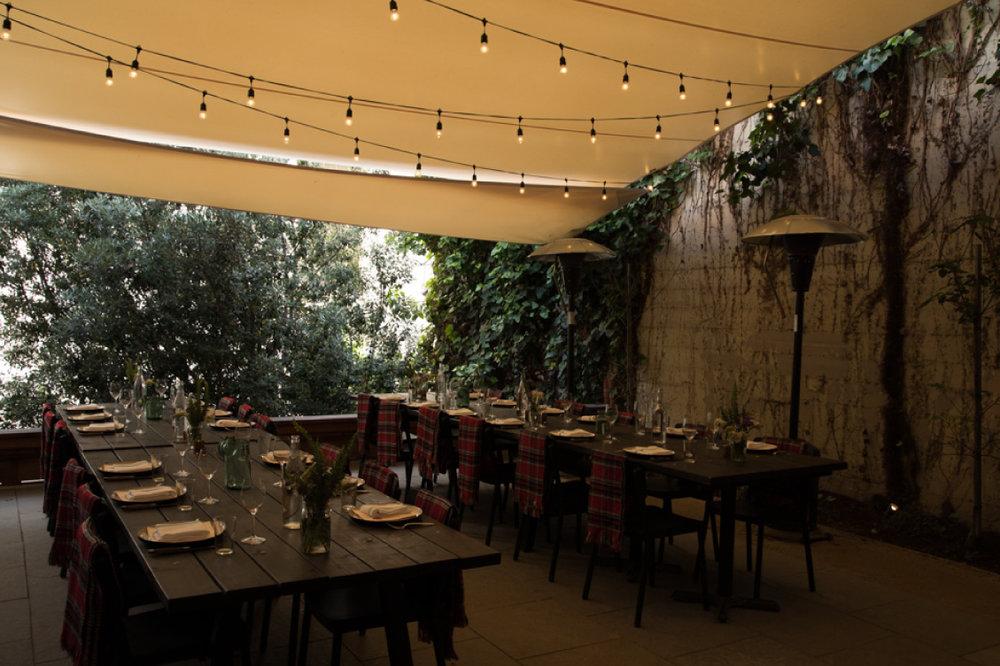 DEL POPOLO - 'The Garden'Up to 40 Seated, 55 Standingprivatedining@delpopolosf.comdelpopolosf.com