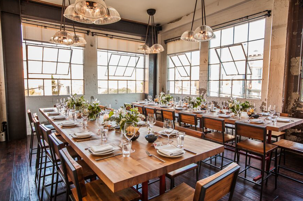 CENTRAL KITCHEN - 'The Upstairs'Up to 32 Seated, 45 Standingevents@netimeas.comcentralkitchensf.com
