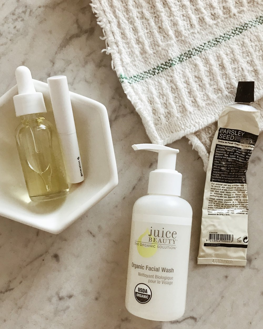 Natural Skincare Essentials | Aleah Eileen