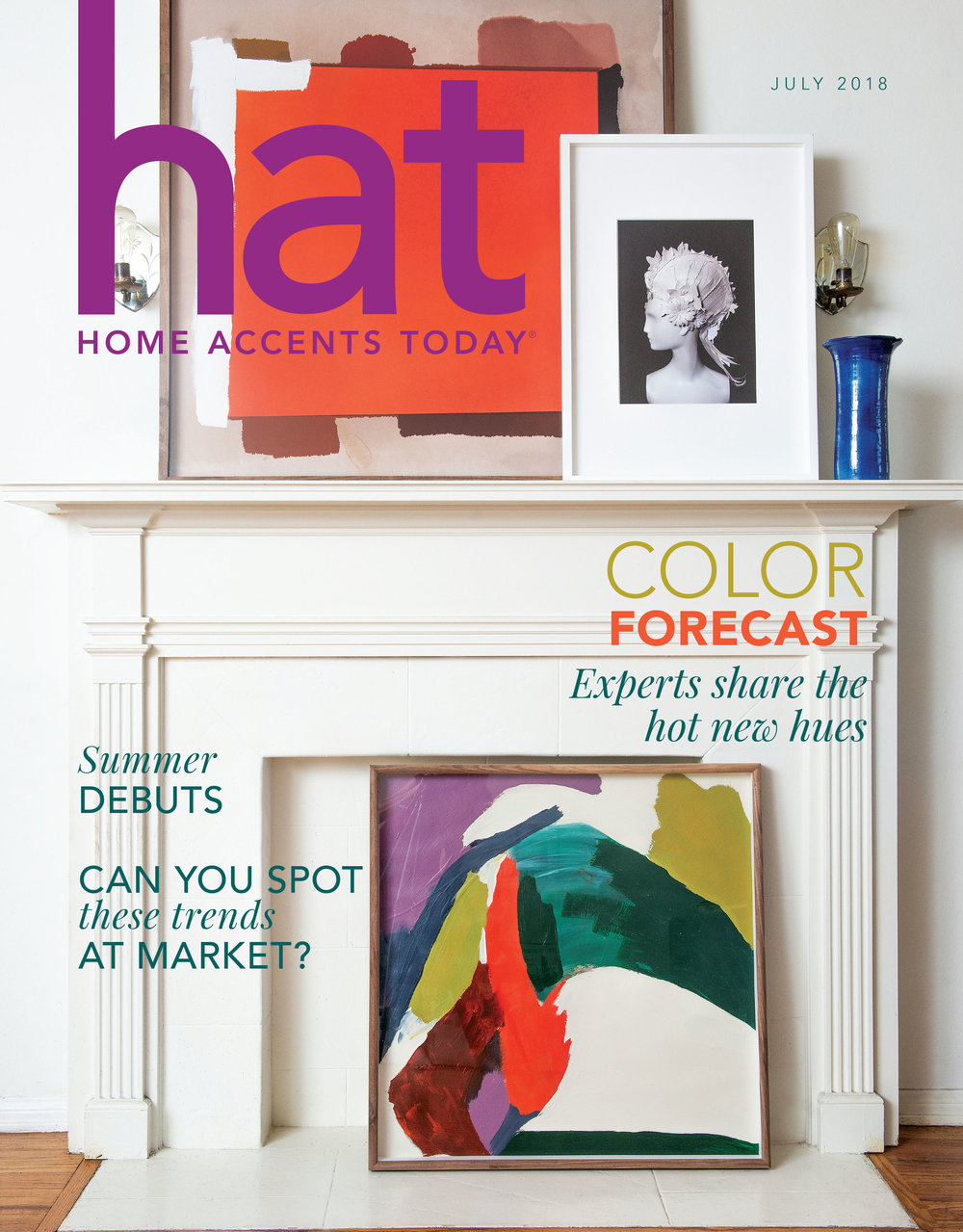 Color Forecast  Home Accents Today - July 2018