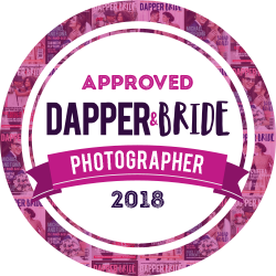 LINK YOUR BADGE TO:www.dapperandbride.com -