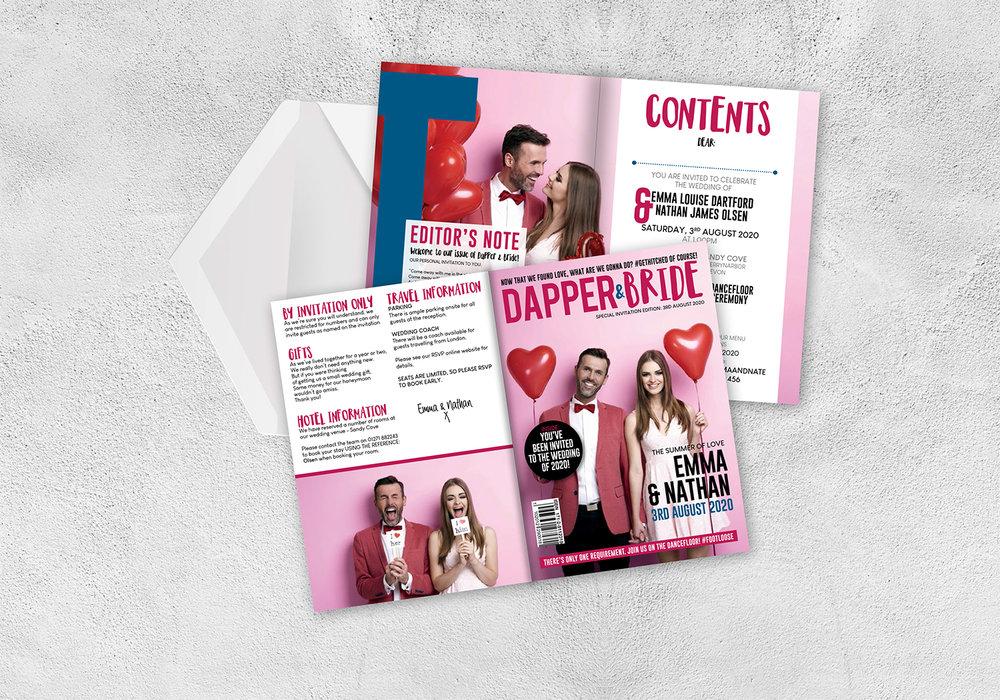 Dapper & Bride Invitations PINK s.jpg