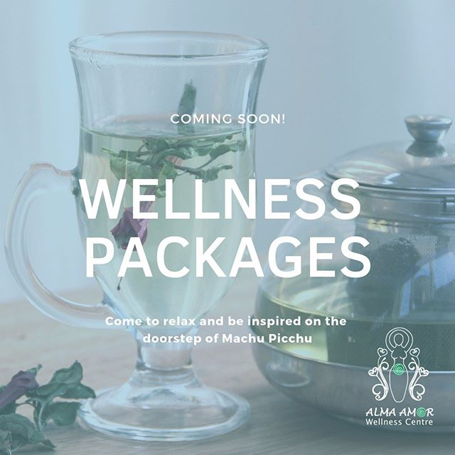 Coming soon: packages with a selection of our wellness services! Stay tuned for more details