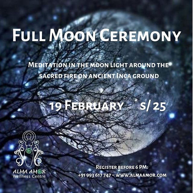 Join us for our next full moon ceremony next week! #fullmoonceremony #ollantaytambo #sacredvalley