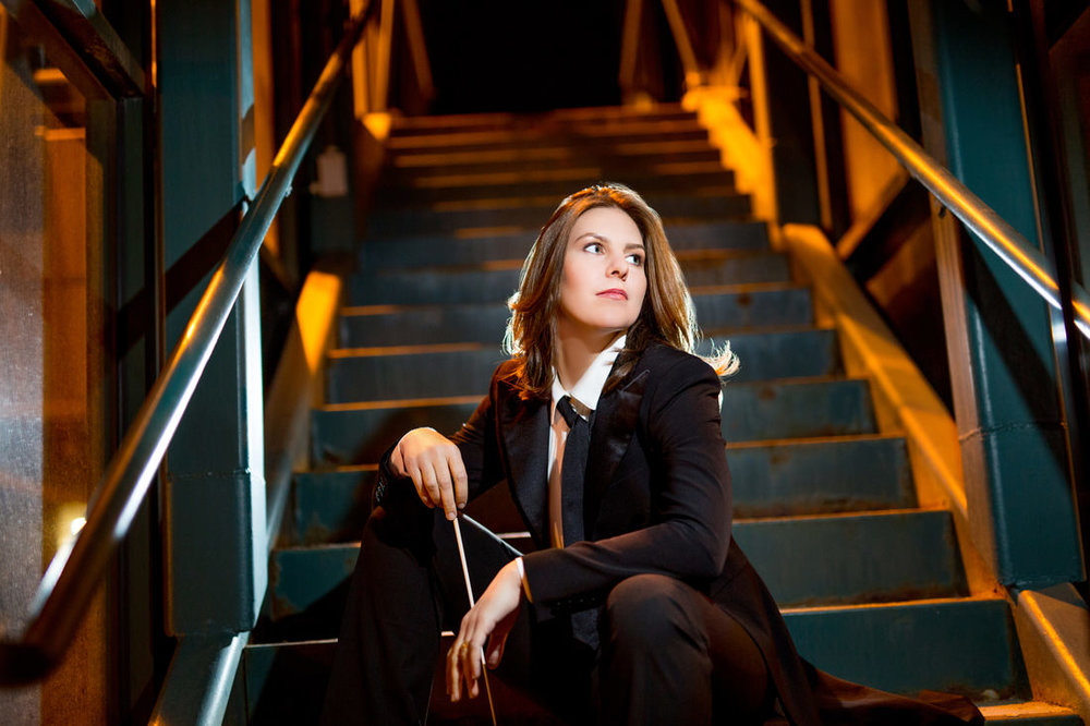 """The classical music industry continues to lag woefully behind when it comes to diversity, especially in leadership positions within larger-budget organizations. Turn the Spotlight is providing the essential mentorship and support those from marginalized groups require in order to reach high-level career goals. I am thrilled to be part of this essential resource for deserving artists across the field."" - Lidiya Yankovskaya, Conductor"