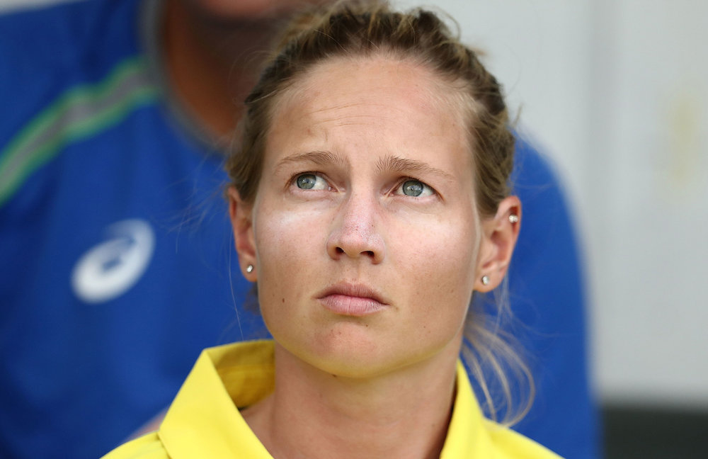 Injury sidelined Meg for Australia's successful Commonwealth Bank Women's Ashes campaign and the entirety of the Rebel WBBL and Women's National Cricket League seasons.