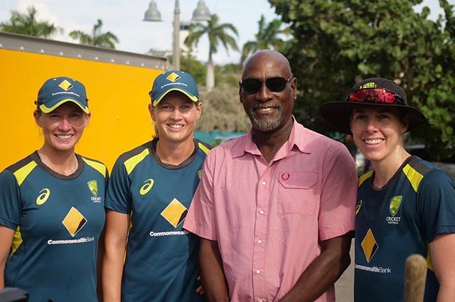 Sir Viv ! 🏏. Cant wait to get our T20 campaign underway. #WestIndies #cricket #Antigua