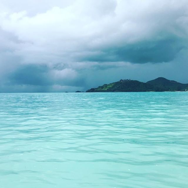 What an unbelievable place ! 🏖🌦Thanks @davebailey80 for your bravery while taking this photo #Antigua #WestIndies