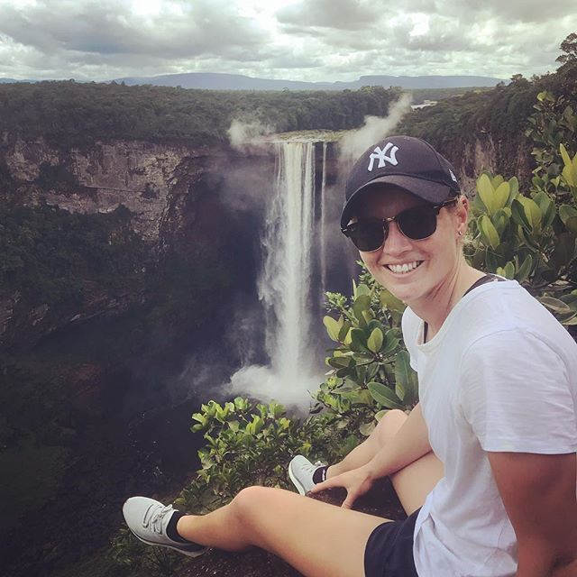 Lucky to travel to some amazing places ! A few nerves pre flight 🛫but well worth it !! #guyana #KaiFalls