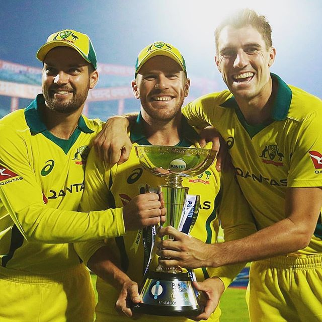 First Series win in India in over a decade, amazing feeling! #IndvsAus