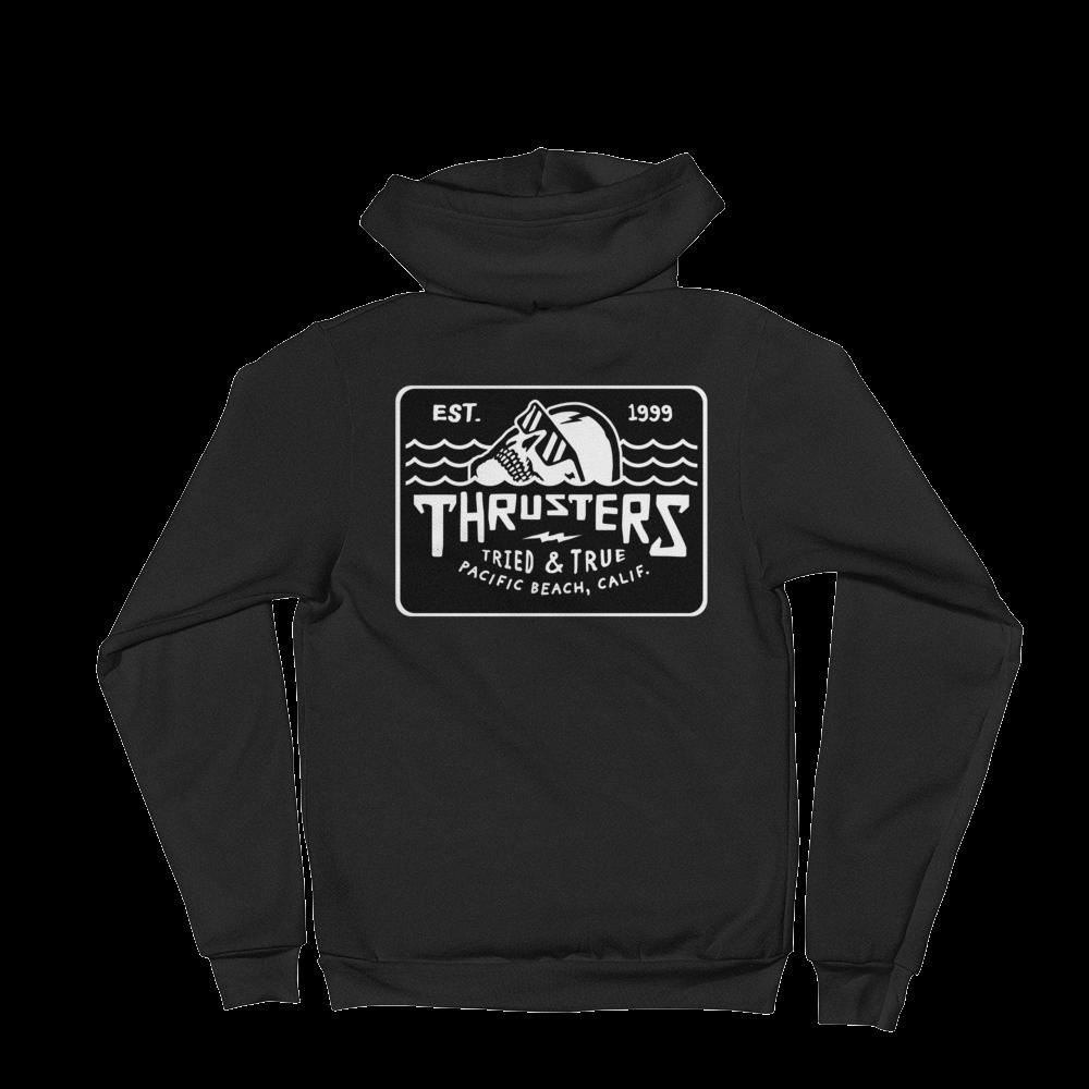 6d5e254fd4f49 Black Sweatshirt — Thrusters Lounge