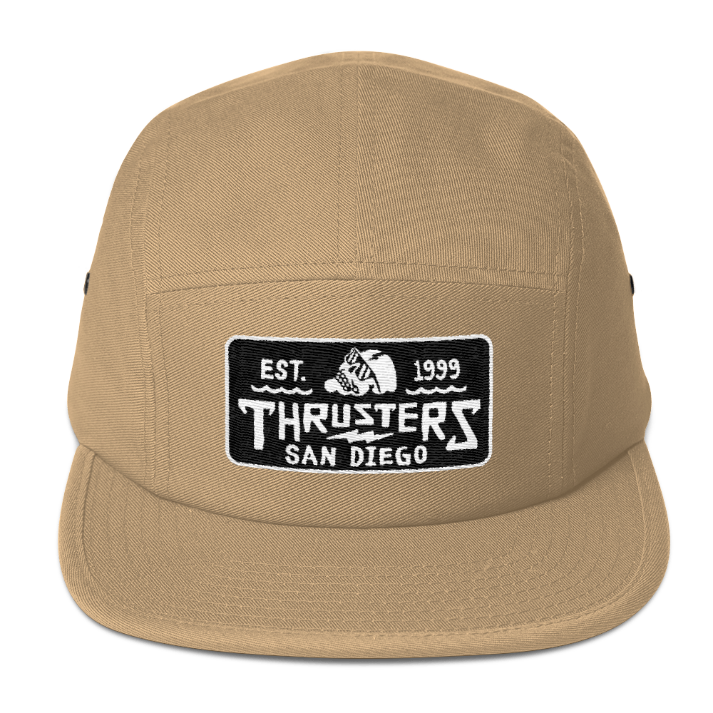 281ebb84d6239 Tan 5-Panel Hat — Thrusters Lounge