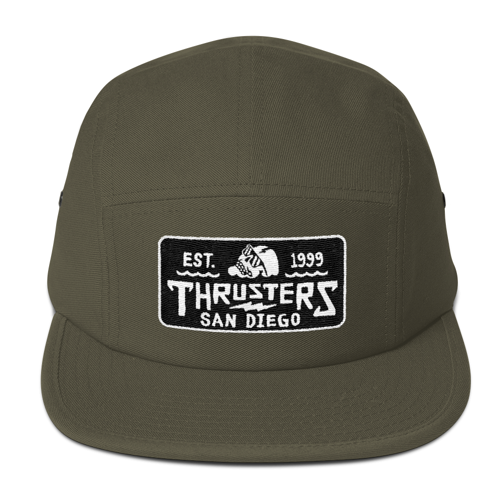 f9d7495c6575d Olive 5-Panel Hat — Thrusters Lounge
