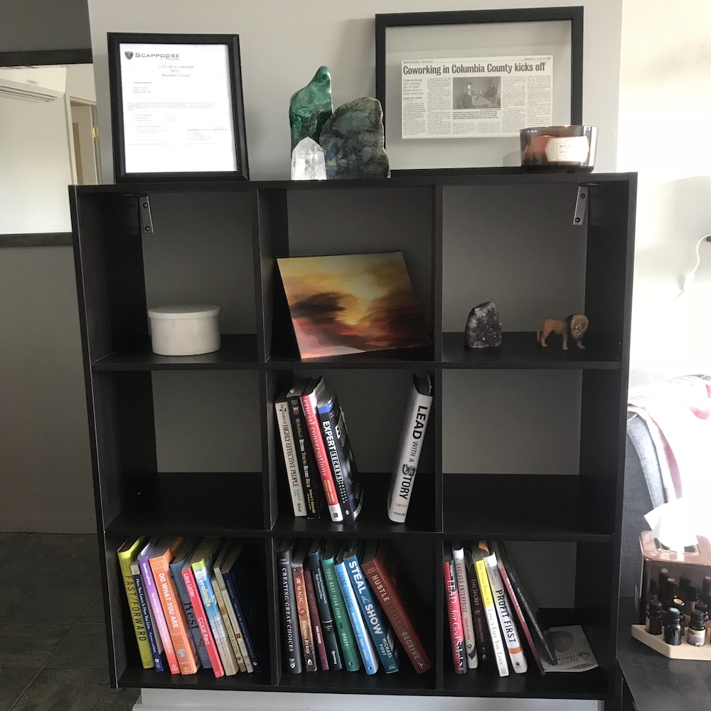 Stocked Biz Book Library