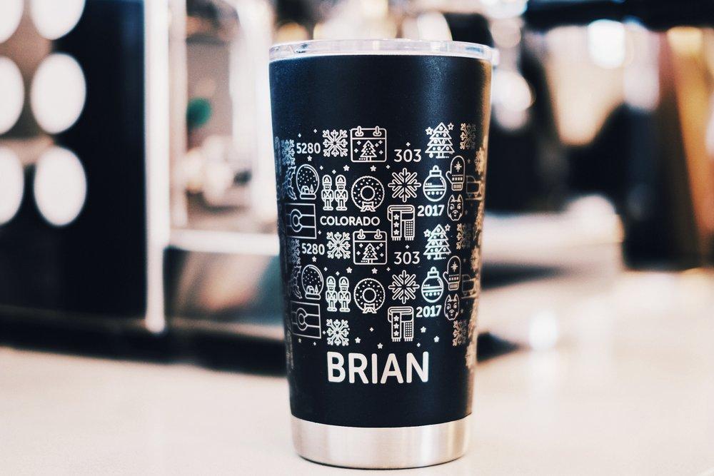 Holiday Theme Mug (Personalized)