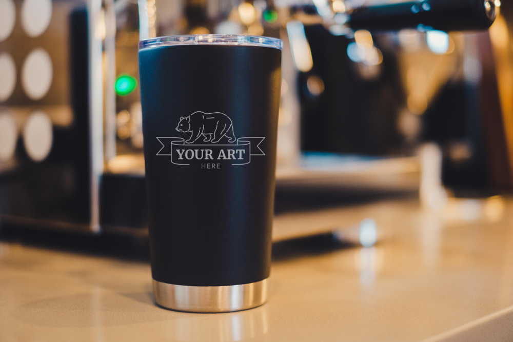 Easy as File>Share>Done - Ready to see that shiny new mug with your artwork on it? Let's get started!