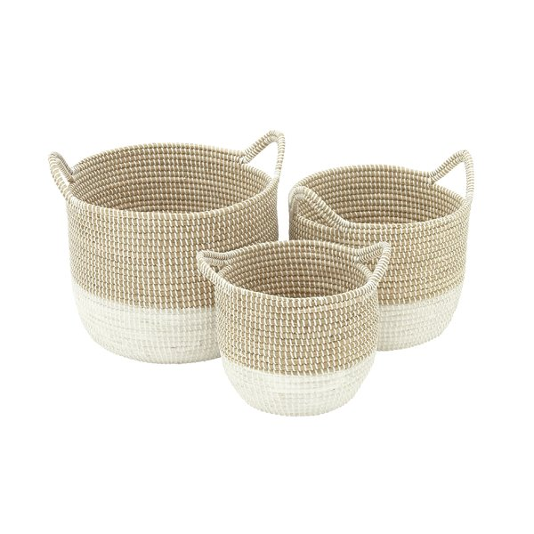 Seagrass 3 piece basket