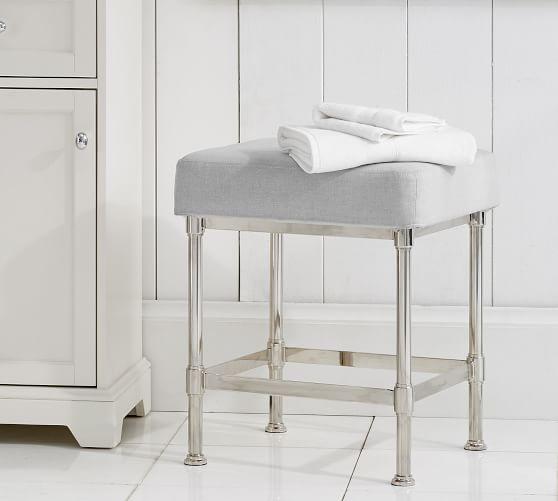 metal bath stool