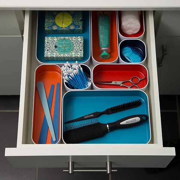 metal drawer organizers